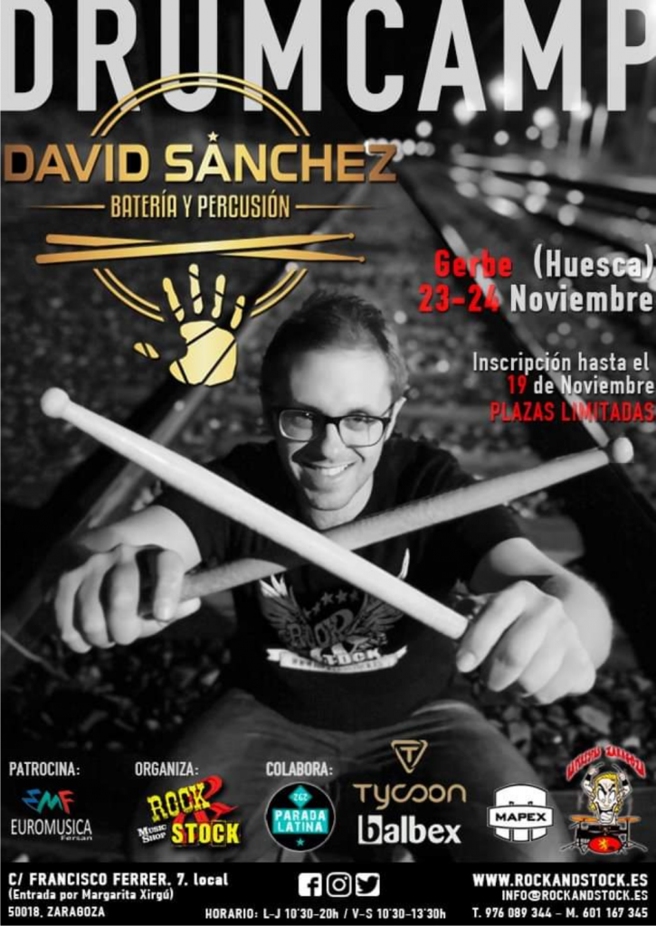 Drum Camp de David Sanchez