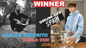 Jorge Expósito, ganador del Drum Off Spain 2020