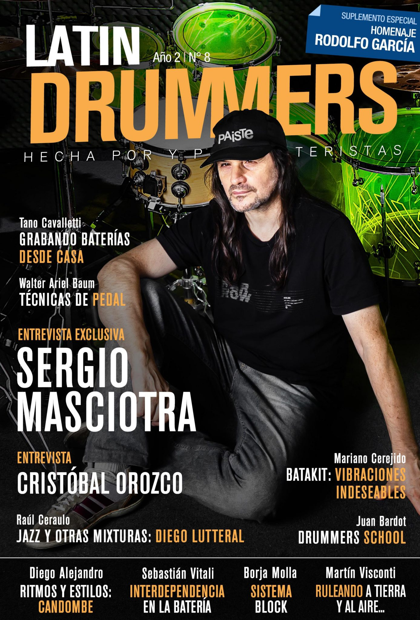 <CENTER>Nace Latin Drummers para todos los bateristas</CENTER>